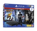 Sony PS4 (Playstation 4), 1 TB + Ratchet & Clank + Uncharted 4 + The Last of Us